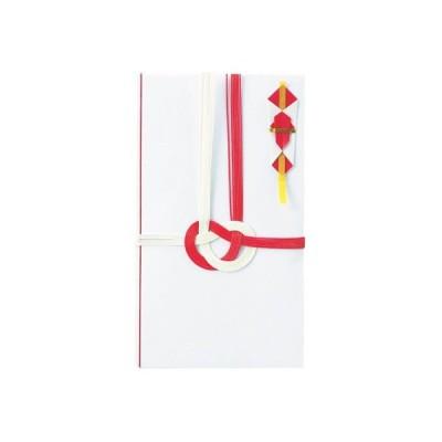 縦折金封 赤白 中袋付 5枚入 今村紙工 651-5
