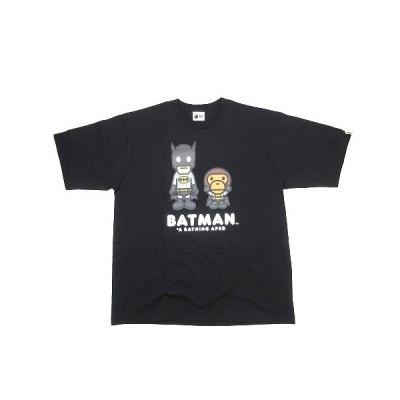 【中古】未使用品 アベイシングエイプ A BATHING APE × ディーシー DC BABY MILO BATMAN TEE ベビー マイロ バットマン Tシャツ カットソー/B63 メンズ