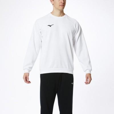 MIZUNO ミズノ スウェットシャツ(クルーネック) ホワイト テニス 32MC017501