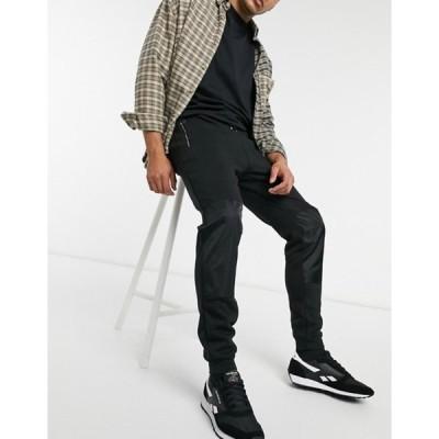 ボロンガロトレバー メンズ カジュアルパンツ ボトムス Bolongaro Trevor skinny tech mixed fabrications sweatpants