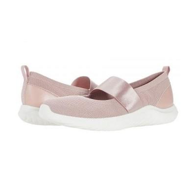 Clarks クラークス レディース 女性用 シューズ 靴 スニーカー 運動靴 Nova Sol - Dusty Pink Knit