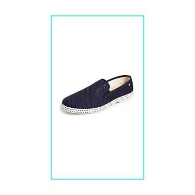 【新品】Rivieras Men's Classic 20 Slip On Sneakers, Marine, Blue, 10 Medium US(並行輸入品)