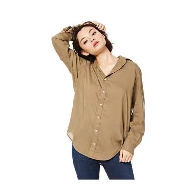 アングリッド シャツ テンセルローンシャツ レディース 111940423701 カーキ 日本 F (FREE サイズ)