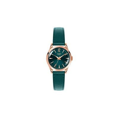 Henry London Ladies Stratford Watch withアナログ表示とティ-ルレザ-ストラップhl25s0128並行輸入品