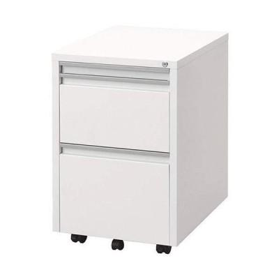 ナカバヤシ スライドテーブルキャビネット ホワイト RWX-F520W 1個