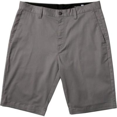 ボルコム Volcom メンズ ショートパンツ ボトムス・パンツ vmonty stretch 22in shorts Moonbeam