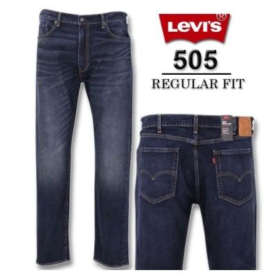 大きいサイズ メンズ Levi's 505レギュラーフィットデニムパンツ W38 W40 W42 W44