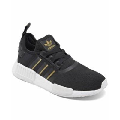 アディダス レディース スニーカー シューズ Women's NMD R1 Casual Sneakers from Finish Line Core Black Gold
