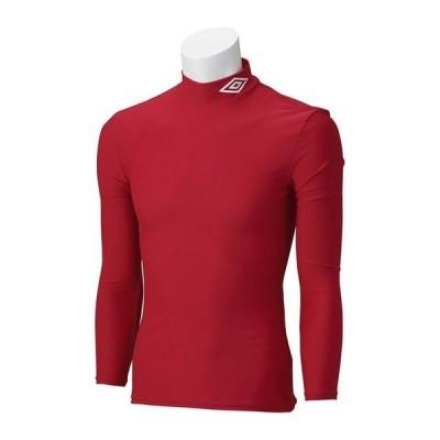 【1枚までメール便可】 [umbro]アンブロ ジュニア長袖コンプレッションシャツ (UAS9300J)(MRED) Mレッド