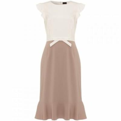 フェイズ エイト Phase Eight レディース ワンピース ワンピース・ドレス Stella Bow Detail Dress White