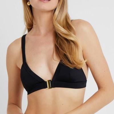 レディース ファッション CASABLANCA TRIANGLE - Bikini top - black