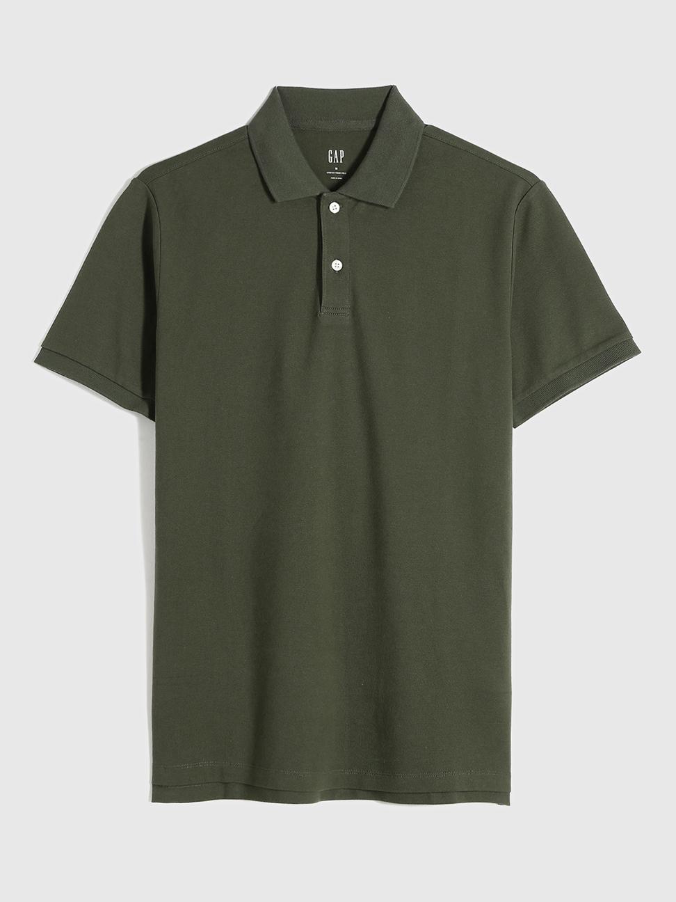 男裝 商務舒適棉質透氣POLO衫