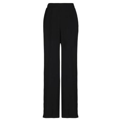 SOALLURE パンツ ブラック 38 レーヨン 90% / ポリエステル 10% パンツ