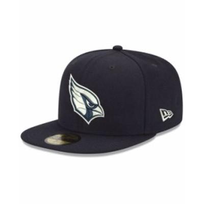 ニューエラ メンズ 帽子 アクセサリー Arizona Cardinals Basic Fashion 59FIFTY-FITTED Cap Navy