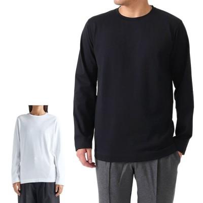 ATON エイトン オーガニックコットン ロンT KKAGBW0010 長袖Tシャツ メンズ レディース