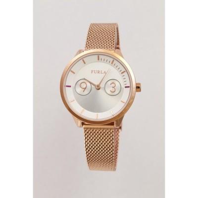 フルラ FURLA レディース 腕時計 クォーツ メトロポリス 31mm シルバー ピンクゴールド ステンレス 4253102530