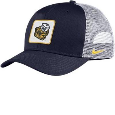 ナイキ メンズ 帽子 アクセサリー Nike Men's Michigan Wolverines Blue Classic99 Trucker Hat
