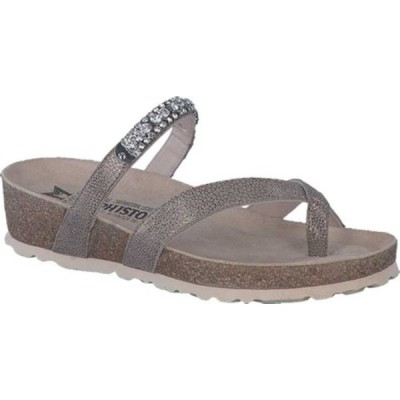 メフィスト サンダル シューズ レディース Solaine Toe Loop Sandal (Women's) Dark Taupe Artic Leather