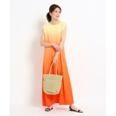 Dessin/デッサン 【CLASSY.6月号掲載/S~M】カノコグラデーションワンピース オレンジ(065) 02(M)
