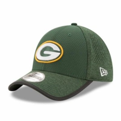 New Era ニュー エラ スポーツ用品  New Era Green Bay Packers Green 2017 Training Camp Official 39THIRTY Flex Hat