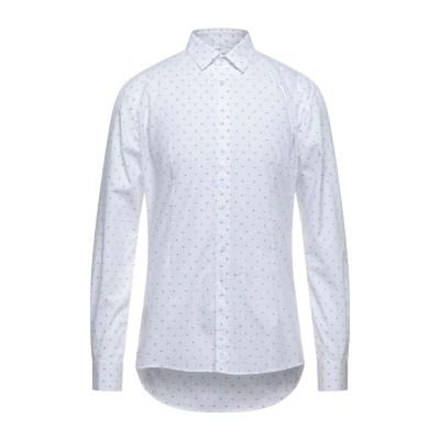 グレイ ダニエレ アレッサンドリーニ GREY DANIELE ALESSANDRINI シャツ ホワイト 40 コットン 100% シャツ