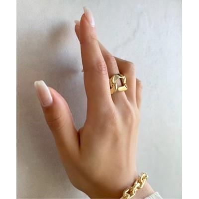 指輪 チェーンデザインリング