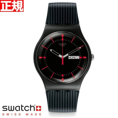 店内ポイント最大26倍!swatch スウォッチ 腕時計 メンズ レディース オリジナルズ ニュージェント Originals New Gent SUOB714