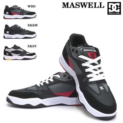 DC スニーカー メンズ MASWELL DM192012 マスウェル スケートボード レザー