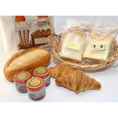 POMPADOUR ポンパドウル  エコバッグ入りパンの詰め合わせ(オリーブオイル)