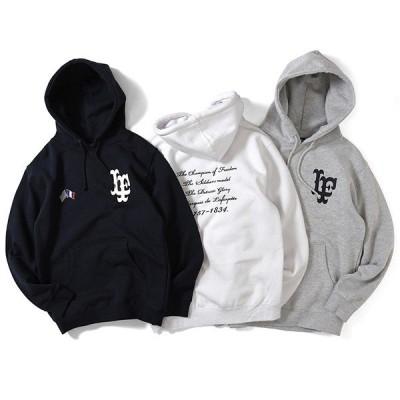ラファイエット パーカー メンズ LAFAYETTE Cross Flag LF Logo Pullover Hoodie LS200504