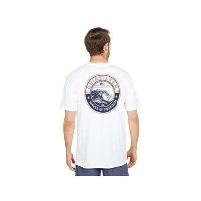 クイックシルバー Waves Of Freedom Tee メンズ シャツ トップス White