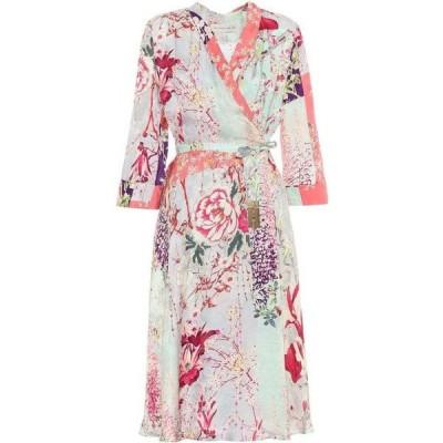 エトロ Etro レディース ワンピース ワンピース・ドレス floral satin dress