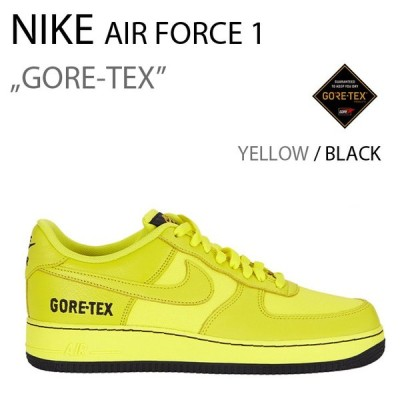 NIKE AIR FORCE 1 LOW Gore-Tex Dynamic Yellow エアフォース ゴアテックス イエロー CK2630-701