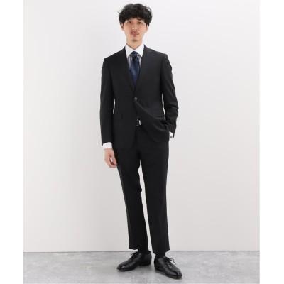 メンズ ベーセーストック ノープリーツスラックス スーツ5 A ブラック A 46