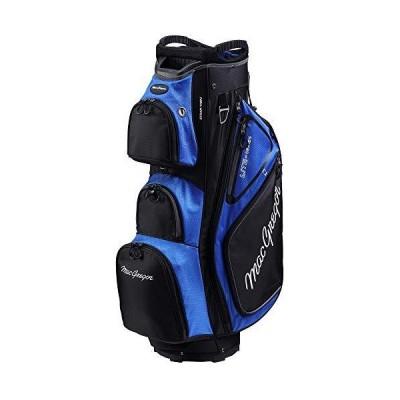 MacGregor Golf VIP デラックス 14ウェイ カートバッグ 9.5インチ トップ ブラック/ブルー