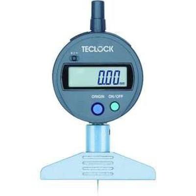 【送料無料】テクロック デジタルデプスゲージ 測定範囲0~12mm(品番:DMD-210S2)『4514882』
