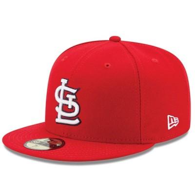 カージナルス キャップ ニューエラ NEW ERA  MLB オーセンティック オンフィールド 59FIFTY ゲーム 平つば キャップ 特集