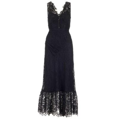 セルフ・ポートレイト レディース ワンピース トップス Self-Portrait Lace V-Neck Midi Dress -