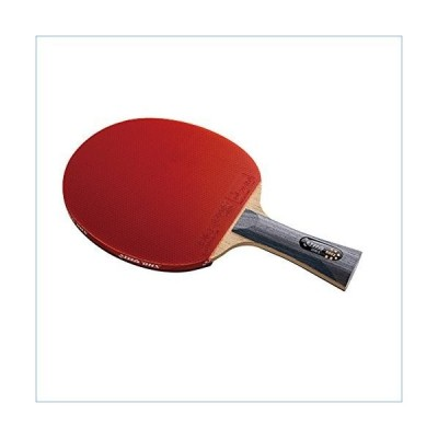 DHS Ping Pong Paddle 6002, Table Tennis Racket - Shakehand with LANDSON Rubber Protector並行輸入品