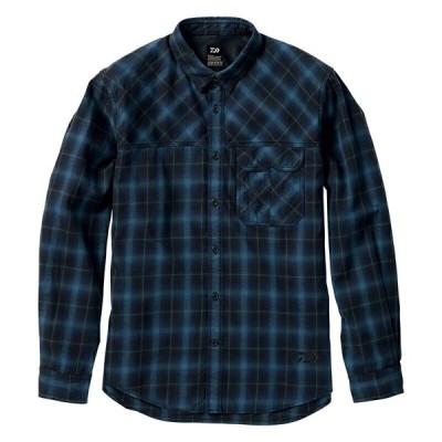 ダイワ (Daiwa) DE-94008 Bluecheck Lサイズ(フランネルシャツ)