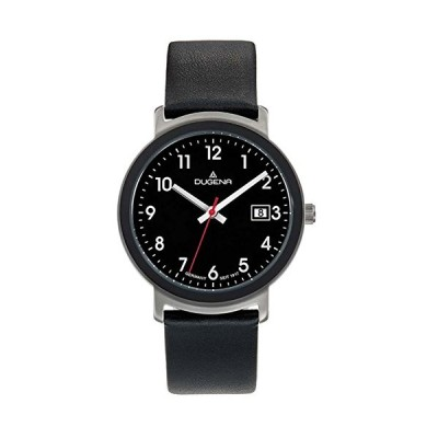 Dugena Women's Analogue Quartz Watch with Leather Strap 4460671 並行輸入品
