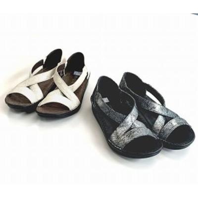 サンダル レディースシューズ レディースファッション 靴 フラット クロスベルト セパレートサンダル S M L LL 爪先のかえりよい 楽々