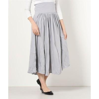 スカート ジャージーコレット ロングスカート