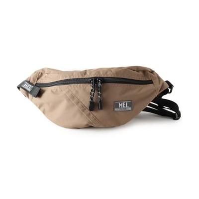 (pink adobe/ピンクアドベ)MEI メッシュポケット付きボディバッグ/レディース ブラウン(042)