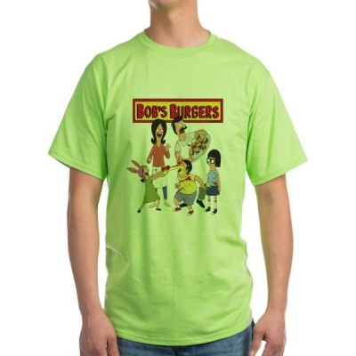 ユニセックス 衣類 トップス CafePress - Bob's Burgers Family Light T Shirt - Light T-Shirt - CP Tシャツ
