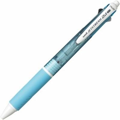 三菱鉛筆 多機能ペン ジェットストリーム2&1 0.7mm (軸色:水色) 1本
