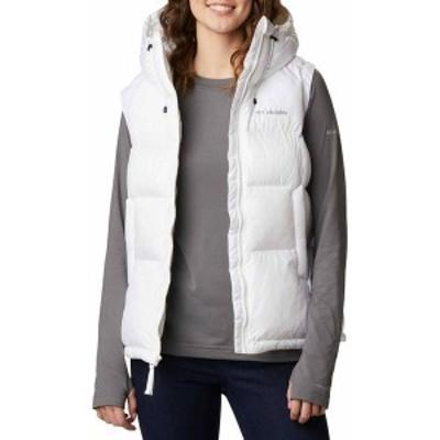 コロンビア レディース ジャケット・ブルゾン アウター Columbia Women's Pike Lake II Insulated Vest White