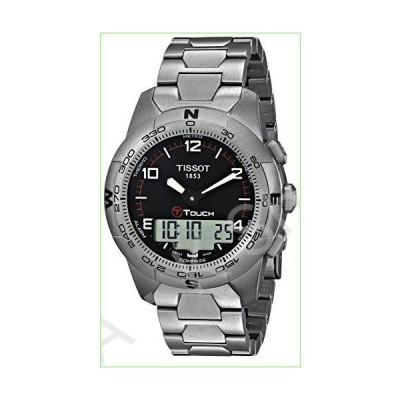 Tissot Men's T0474204405700 T-Touch II Men's Black Quartz Touch Watch【並行輸入品】