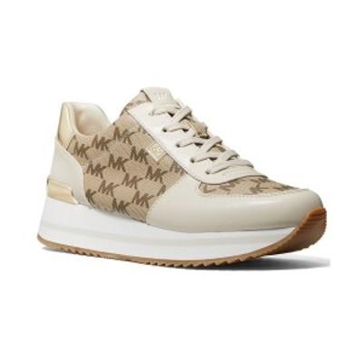 マイケルコース レディース スニーカー シューズ Monique Trainer Sneakers Natural