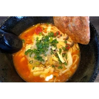 こだわりのスープで作った トマトラーメン ラーメン 冷凍 2食入り 飛騨古川 HIRO DASH[Q442]